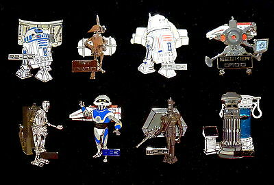 Star Wars Weekends 2015 *** Droid Mystery Set *** Set Of 8 Limited Release Pins