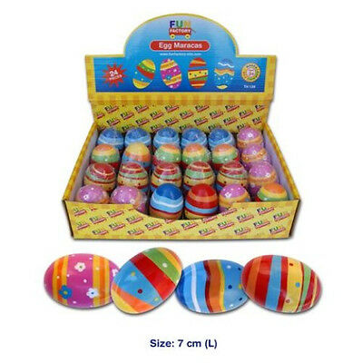 NEW Children's Musical Instrument Wooden Egg Shaker Maraca 7cm