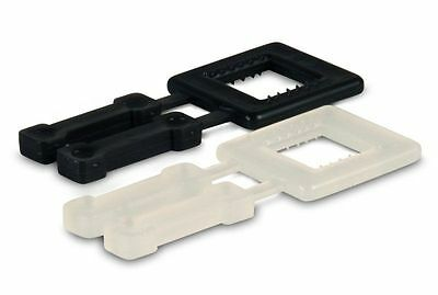 Heavy Duty White Pallet Strapping Buckles Box 1000 12mm