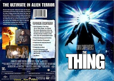 The Thing ~ New DVD ~ Kurt Russell _ John Carpenter (1982) UPHE