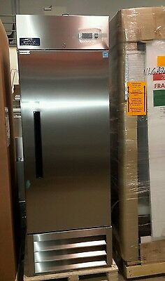 New Commercial Arctic Air Single Door Stainless Steel Reach-In Refrigerator