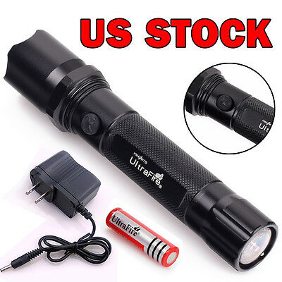 USA Ultrafire 3in1 Q5 Mini Led Flashlight Torch Rechargeable+Battery And Charger
