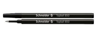 Schneider Topball 850 0.5mm Rollerball Refill Black Ink  Compatible With 777