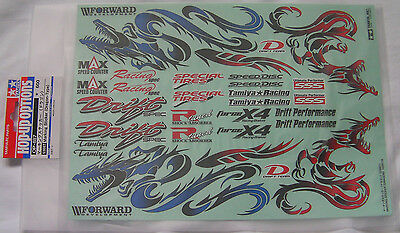 Tamiya 53887 Marking Sticker (Dragon-Type) NIP