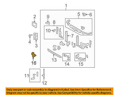 TOYOTA OEM-Outside Air Ambient Temperature Sensor 8879022131