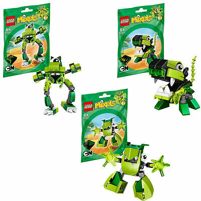 LEGO MIXELS SERIES 3 GLOMP GLURT TORTS NEW