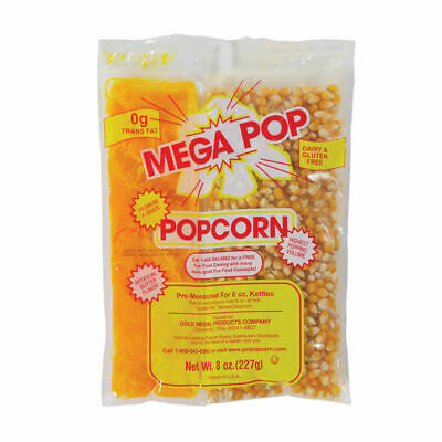 Popcorn Kit for 6 OZ Kettles. Kit includes Popcorn, Oil + Salt, Free Shipping