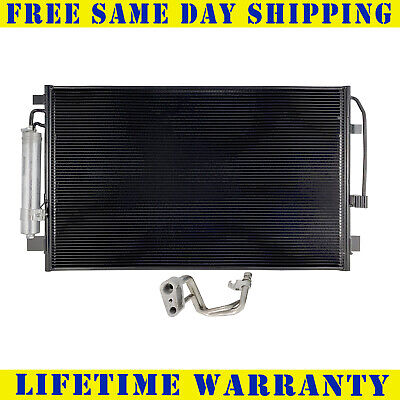 A/C Condenser For 2013-2018 Nissan Altima Maxima 4CYL V6 Fast Free Shipping