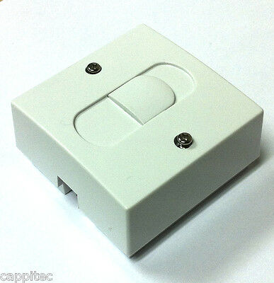 Compact Bt Telephone Extension Secondary Socket With Screw Terminals 55Mm