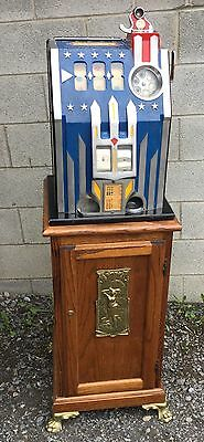 1930's PACE ALL STAR COMET 25 CENT SLOT MACHINE