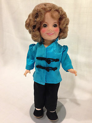 """Shirley Temple """"Stowaway"""" 8"""" Doll By Ideal"""