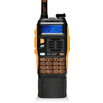 New! Baofeng GT-3TP 8W HP Ham VHF/UHF Two-way Radio with Larger 3800mAh Battery