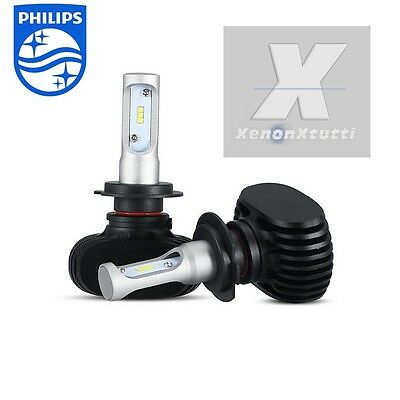 Kit Full Led Canbus 55W Xenon 7600 Lm Lumen H7 5500K Lampade Led All In One Slim