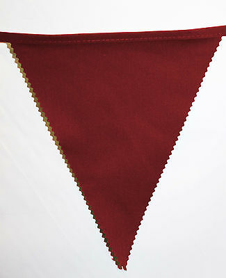 Watford bunting colours ** 10 mtr ** Red Black and Yellow f.a cup final