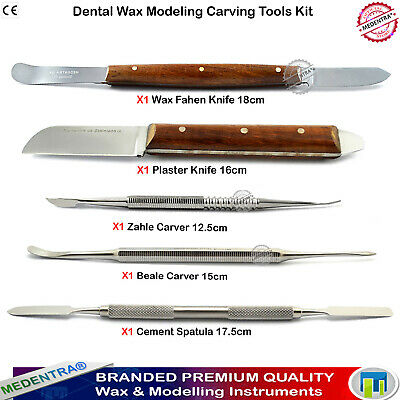 X5 Modelling Laboratory Instruments Wax and Modelling Knives Waxing Carvers Lab
