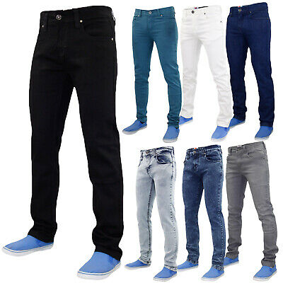 True Face Mens Slim Fit Stretch Denim Jeans Western Stretchable Trouser Pants
