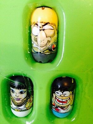 Mighty Beanz Jumping Beans Lot Of 3 Collectible Gift