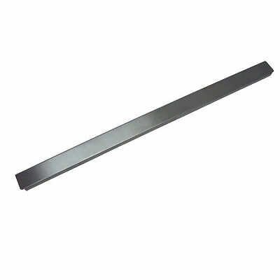 "20"" Adapter Bar for Steam Table Hotel Pan overall Size 21 1/4""x1""x1/2""high SS"