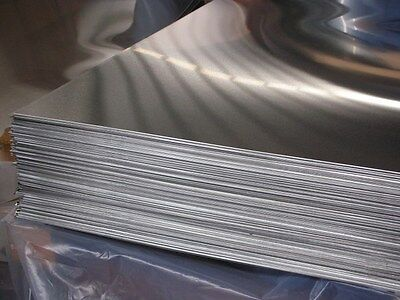 """Aluminum 6061-T6 .040 X 24"""" X 24""""  With  P.v.c. 1-Side"""