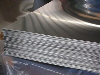 """Aluminum 6061-T6 .040 X 36"""" X 48""""  With  P.v.c. 1-Side"""