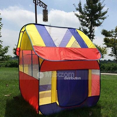 Ultra Large kids tent playhouse children's pop up play tent house UK