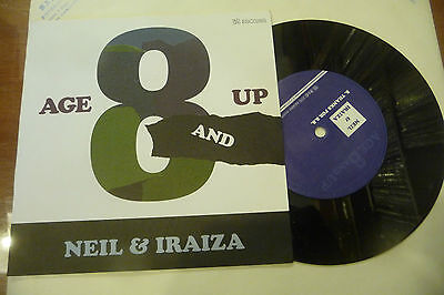 "NEIL&IRAIZA""AGE 8 AND UP-disco 45 giri ESCO 2000"""
