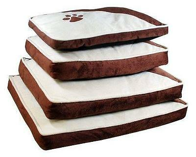 Luxury Soft Comfy Dog Cat Pet Bed Mattress Washable Pillow Cushion Soft Warm Bed