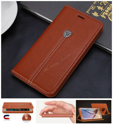 XUNDD Luxury Magnetic Flip Cover Wallet Leather Case For Samsung galaxy S8 Plus