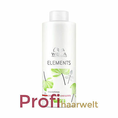 Wella Care Elements Stärkendes Shampoo (sulfatfrei), 1000 ml