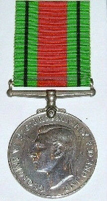 100% Genuine Full Size Ww2 Defence Medal, With Free Uk Postage