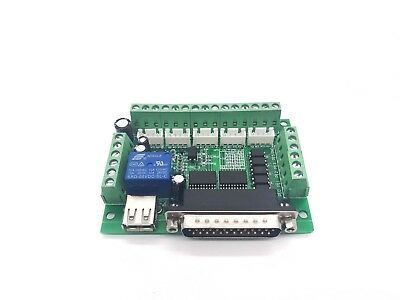 5 Axis CNC Breakout Board For Stepper Driver Controller mach3