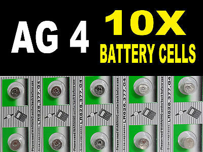 AG4 377 SR626SW Watch Battery Coin Cells Button Batteries Alkaline UK Seller B4