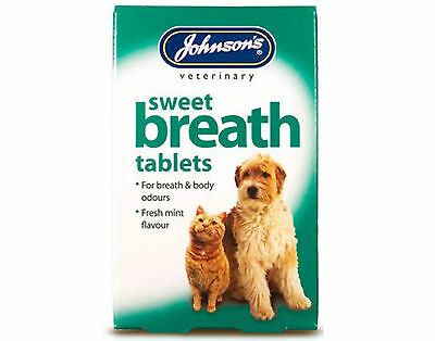 Johnsons Sweet Breath Tablets For Cats And Dogs