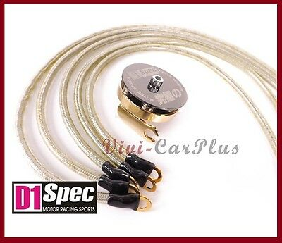 D1 SPEC Universal 24K Super Earth Grounding Wires Kit OD 8mm Performance Up