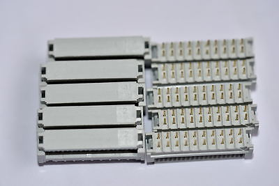 20 Way 2 Row Idc Transition Connector 2.54mm Pitch sold in packs of 10