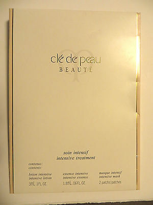 Cle De Peau Beaute Intensive Treatment Set   New 100% Authentic