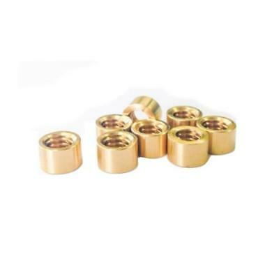 Brass Snooker or Pool Cue Ferrules - Various Sizes