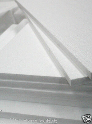 5 Expanded Polystyrene Sheets Sd Grade 600 X 400 X 25Mm