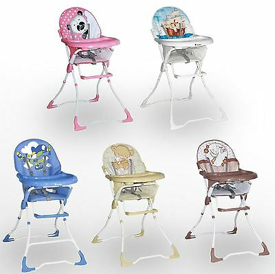 New Baby High Seat Chair Booster With Tray Infant Toddler Nursery