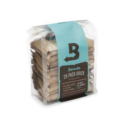 Boveda 69% 2-Way Humidity Control, Large 20-Pack Bulk Brick