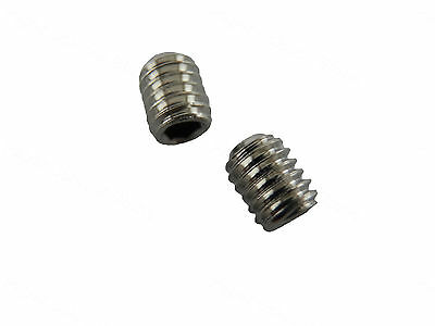 25pcs M4 X 5mm Stainless Steel Grub Set Headless Blind Screw Hex Allen Scoket