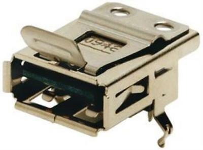 2X Amphenol Commercial Products Lusb-A111-00 Connector,Usb 2.0,Type A,4Position