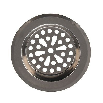 77mm x 55mm x 45mm Silver Tone Stainless Steel Kitchen Sink Strainers FP