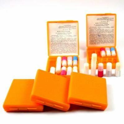 5pcs Soviet russian first aid medicine kit. NBC protection kit. Lot of 5pcs.