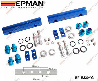 EPMAN FUEL RAIL KITS TURBOCHARGE CAR fits SUBARU WRX STI EJ20 EJ20T