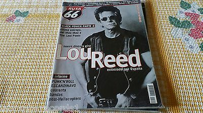 Zz- Revista Magazine Ruta 66  Nº160 - Lou Reed - Roy Orbison - Downliners Sect