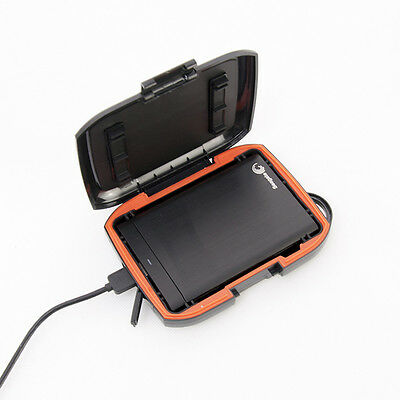 Shockproof Rugged Case Bag For Seagate Backup Plus Portable Hard Disk Drive HDD
