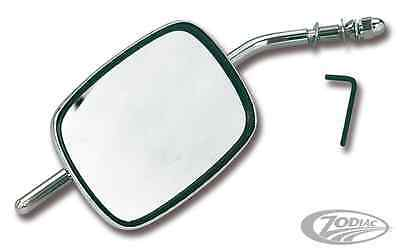 Zodiac Harley-Davidson Chrome Stock Replacement Type Mirror Long Stem Bc16193 T