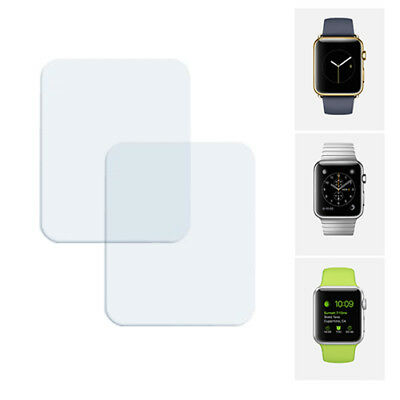 2x PROTECTOR PANTALLA ULTRA CLEAR PARA RELOJ 42 MM APPLE WATCH / SPORT / EDITION