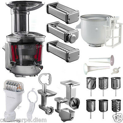 5KICA0WH ACCESSORI KITCHENAID GELATIERA ice cream maker Robot Cucina ...